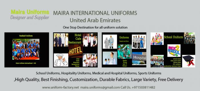 Uniform Supply, Uniform Company, Uniform Factory Ajman, Sharjah