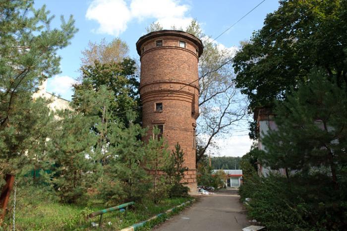 Водонапорная башня видное