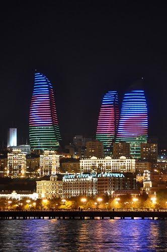 Flame Towers Baku