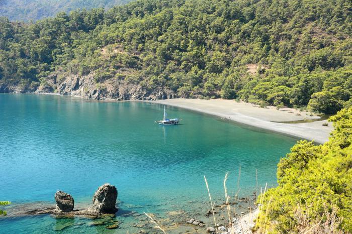 Antalya'da Kamp Yapılacak 10 Doğa Harikası Yer