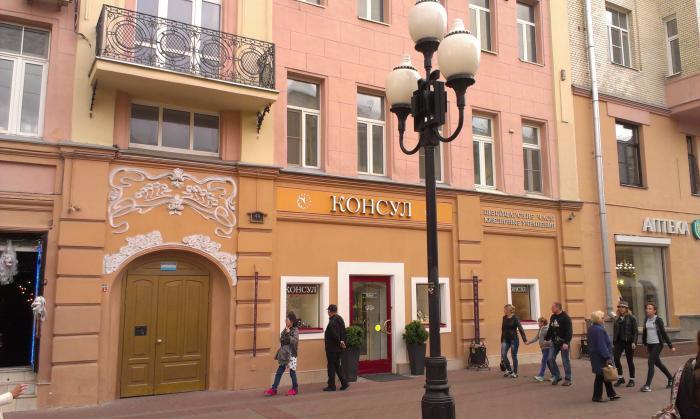 700637d4d1b7 Магазин швейцарских часов «Консул» - Москва