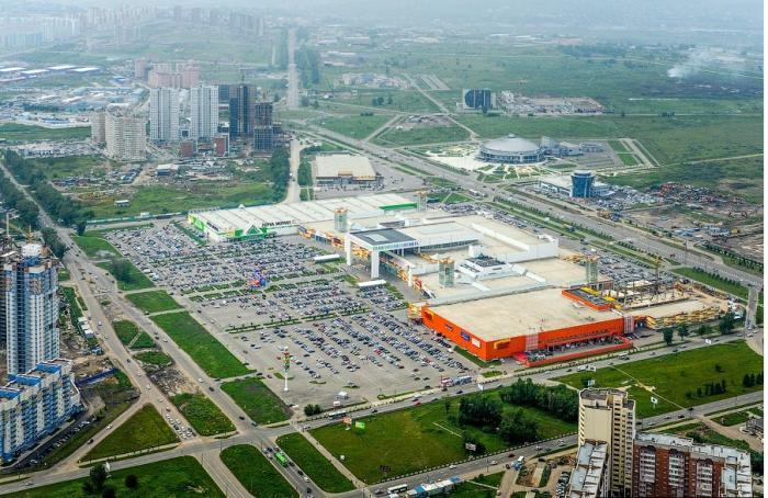 c4704eefc Торгово-развлекательный центр «Планета» - Красноярск | торговый ...