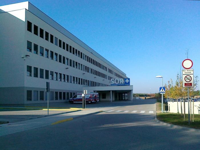 Skan randkowy szpitala w Llandough