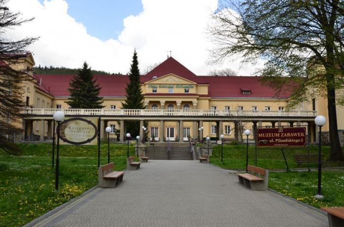 Sanatorium Nowe łazienki Mineralne Krynica Zdrój