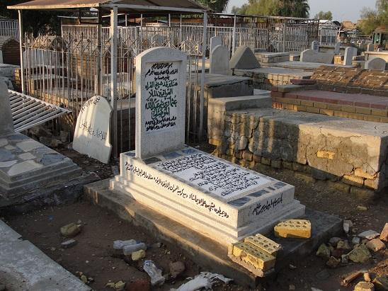 هنا موقع قبر ملا عثمان الموصلي - محافظة بغداد