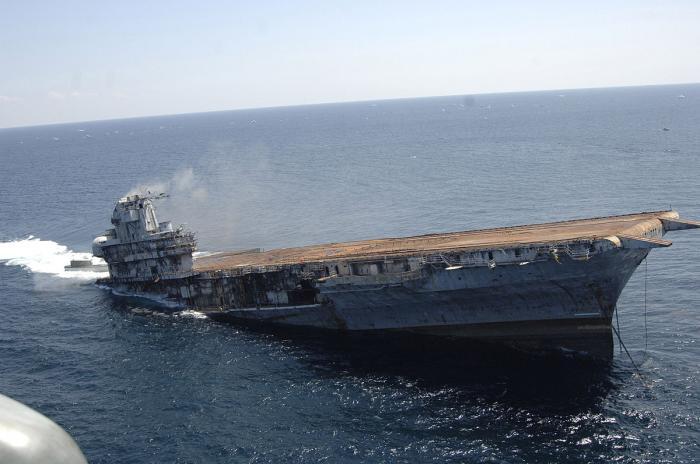 ex-USS Oriskany CV/CVA-34 (Wreck)