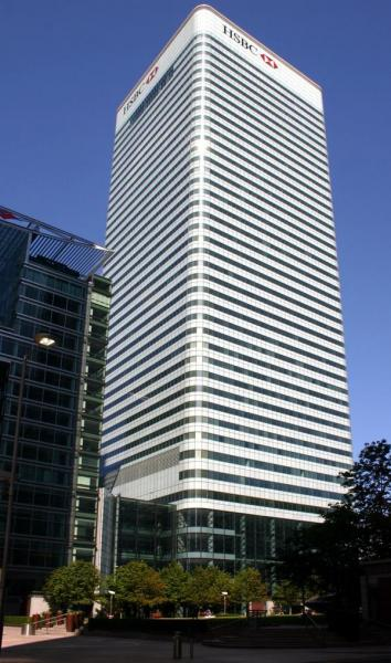 8 Canada Square (HSBC Bank) - London