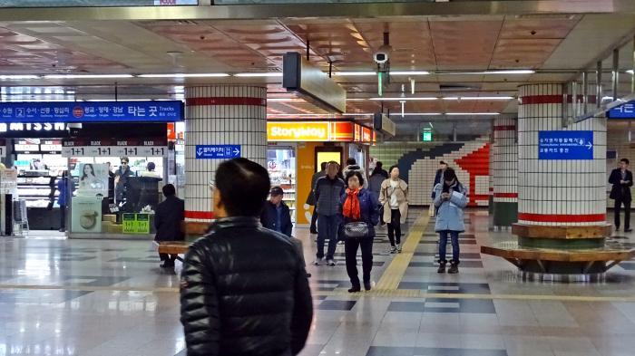Jeongja Station Subway Map.Jeongja Station Bundang And Sinbundang Line Seongnam