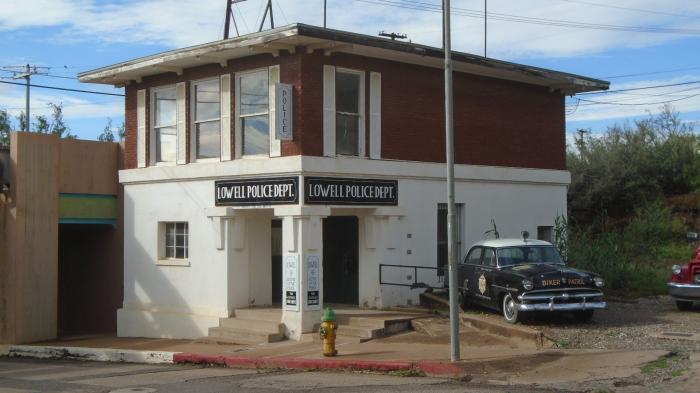 Former Lowell Police Department - Bisbee, Arizona