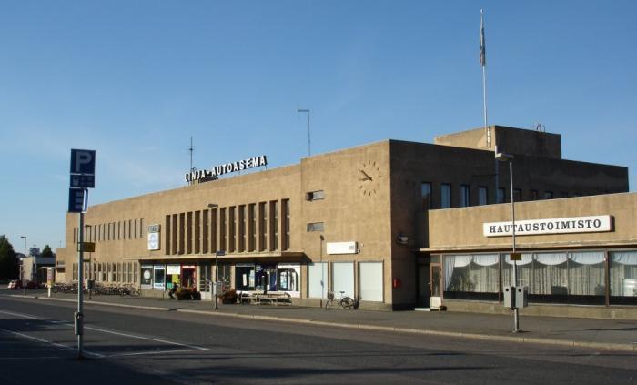 Tampere Linja-Autoasema Pysäköinti