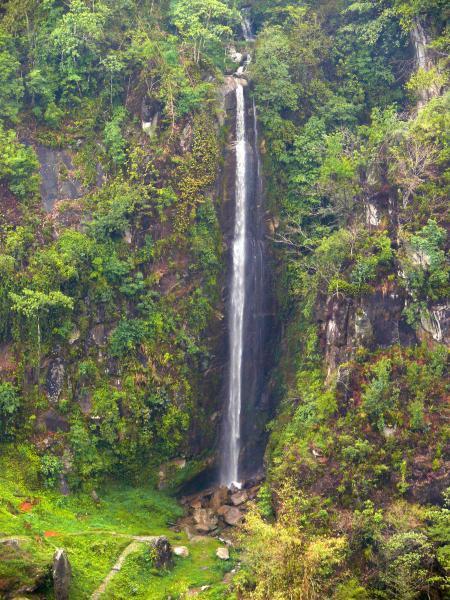 Todke Falls or Todke Jharna in Ilam