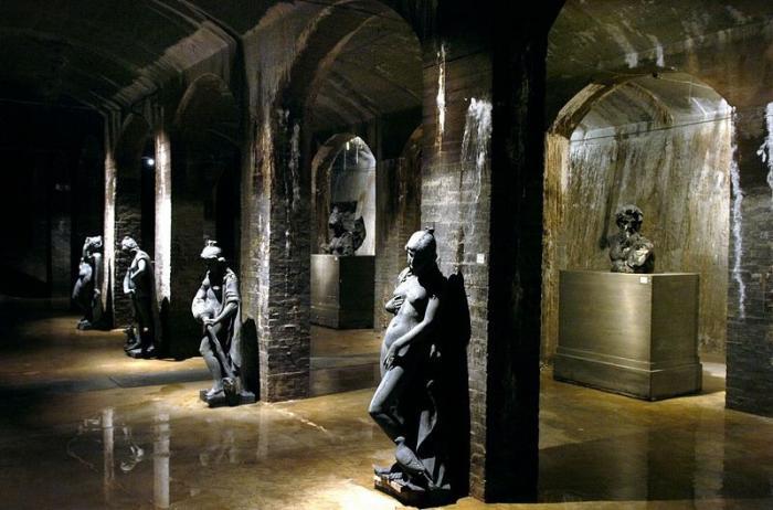 Museum Of Modern Stained Glass Art In Copenhagen