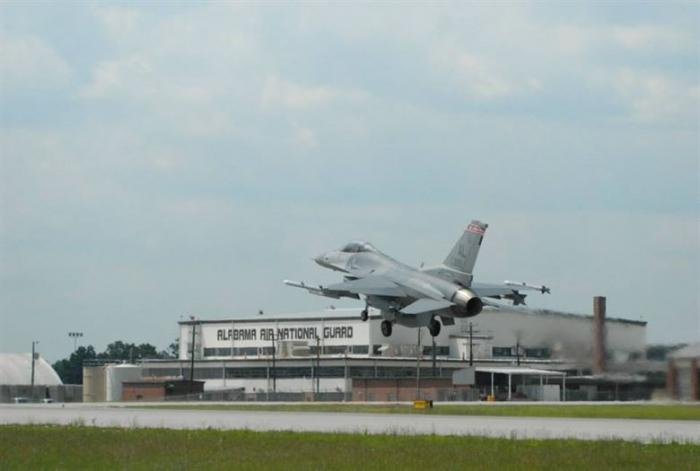 Alabama Air National Guard Base - Montgomery, Alabama