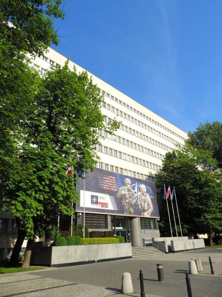 Polish Ministry Of Defence Warsaw