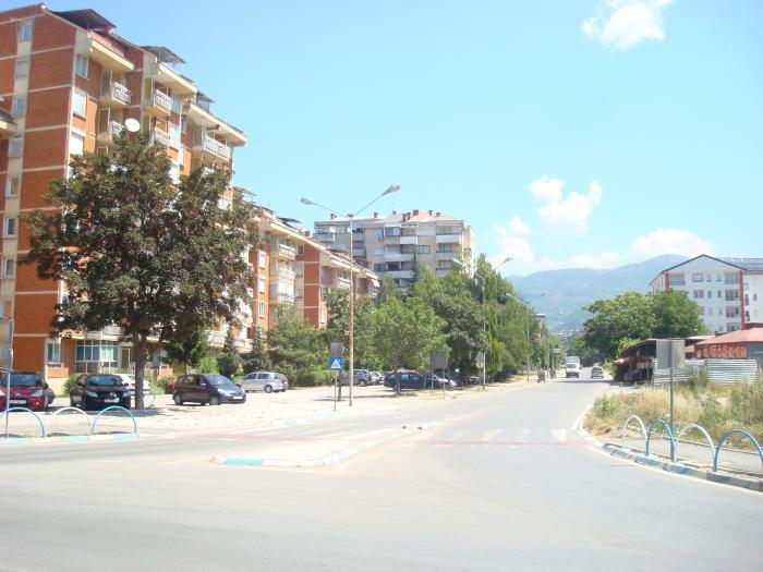 """Времено затворена улицата """"Асном"""" во Охрид"""